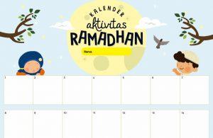 lembar aktivitas ramadhan, kalender aktivitas ramadhan (1)