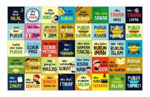 lembar aktivitas ramadhan, stiker ibadah
