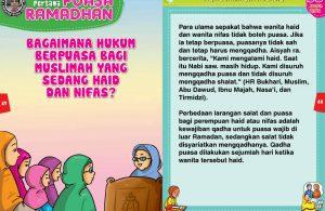 panduan pertama anak puasa ramadhan, Bagaimana Hukum Berpuasa Bagi Muslimah yang sedang Haid dan Nifas 22