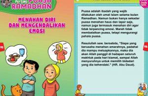 panduan pertama anak puasa ramadhan, Menahan Diri dan Mengendalikan Emosi (48)