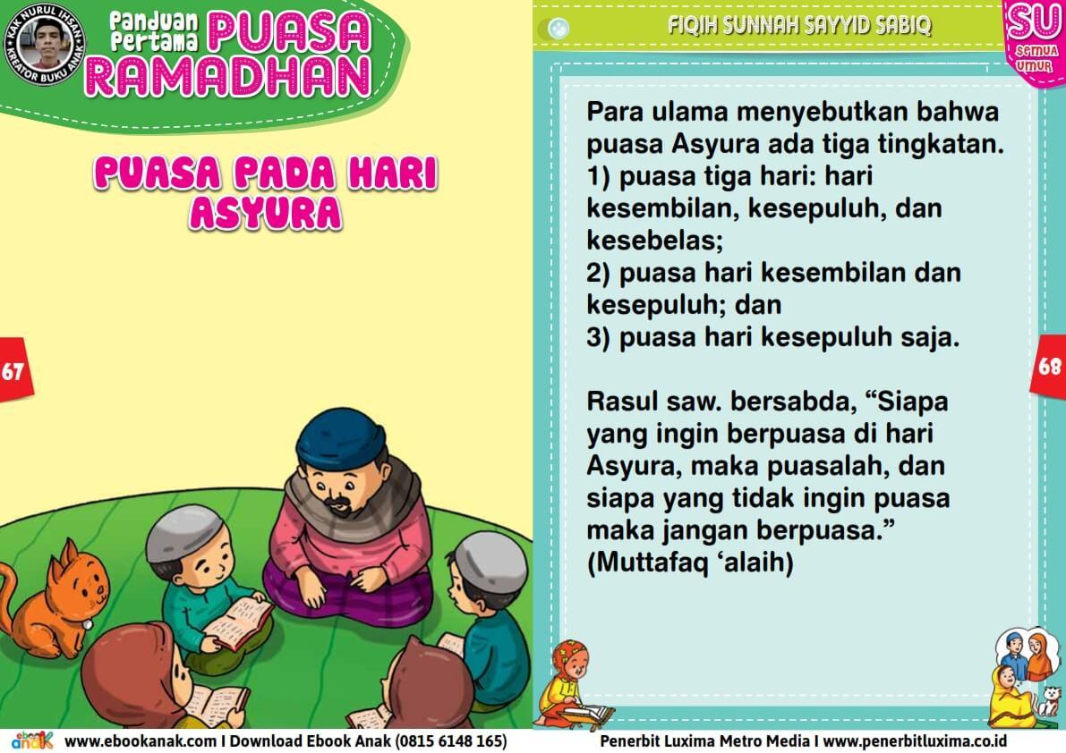 panduan pertama anak puasa ramadhan, Puasa Pada Hari Asyura (34)