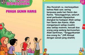 panduan pertama anak puasa ramadhan, Puasa Senin Kamis (37)