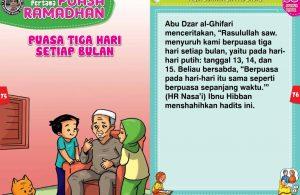 panduan pertama anak puasa ramadhan, Puasa Tiga Hari Setiap Bulan (38)