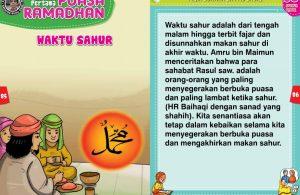 panduan pertama anak puasa ramadhan, makan sahur (43)