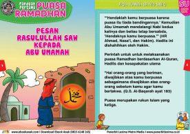 panduan pertama anak puasa ramadhan pesan rasulullah kepada abu umamah 2