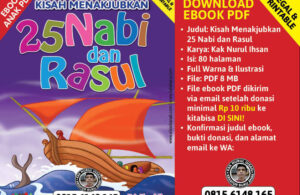 pop up cover ebook pdf kisah menakjubkan 25 nabi dan rasul