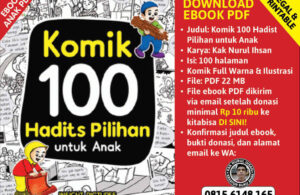 pop up cover ebook pdf komik 100 komik hadist pilihan untuk anak