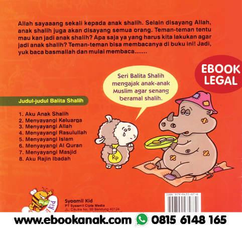 Download Ebook Anak: Seri Balita Shalih, Aku Anak Shalih