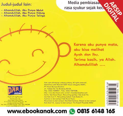 Download Ebook Thank You Allah: Alhamdulillah Aku Punya Mata