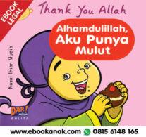 Download Ebook: Thank You Allah, Alhamdulillah, Aku Punya Mulut