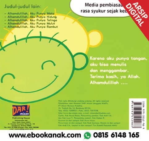 Download Ebook: Thank You Allah, Alhamdulillah, Aku Punya Tangan