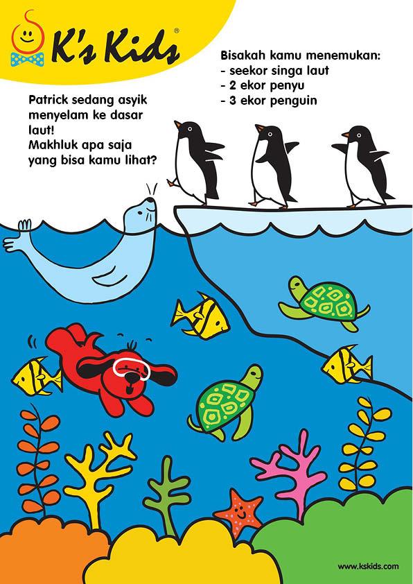 worksheets mencari benda di lautan (2)